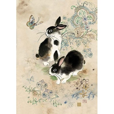 Deux Lapins / Two Rabbits