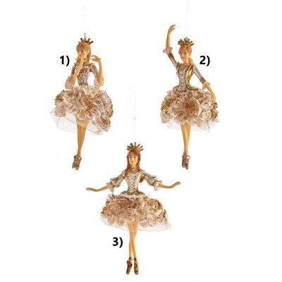 Ornement Ballerine Or