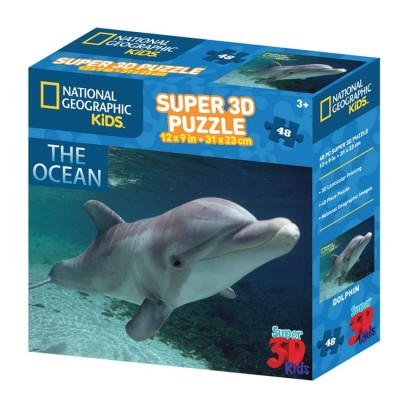 Puzzle 3D Dauphin The Ocean (3ans+)