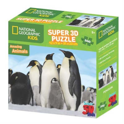 Puzzle 3D Pingouin Amazing Animals (5ans+)