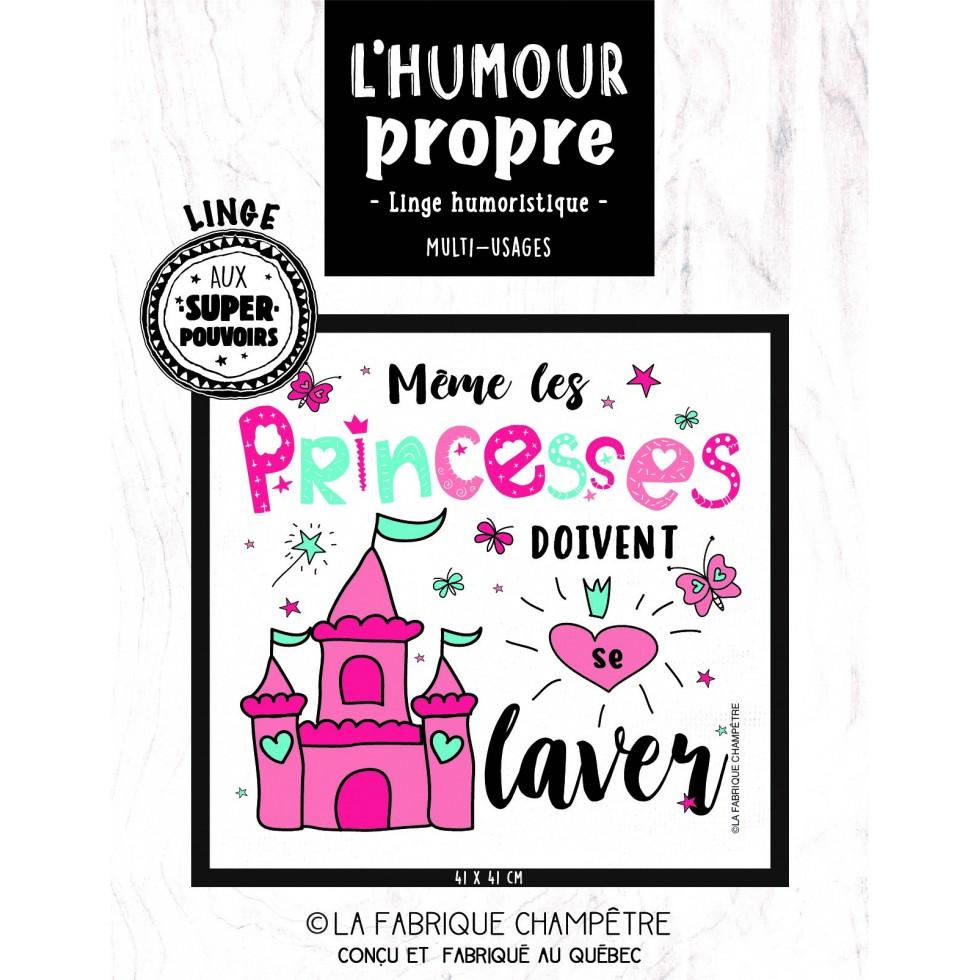 Linge Super Pouvoirs Princesses Lidée Cadeau