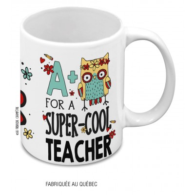 Tasse A+ For A Super-Cool Teacher