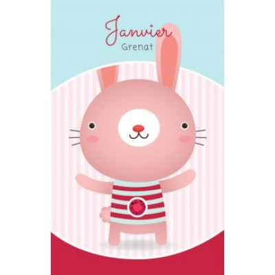 Carte - Janvier / January - Card