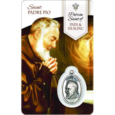 Card - Saint Padre Pio - Pain & Healing
