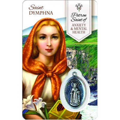 Card - Saint Dymphna - Anxiety & Mental Health