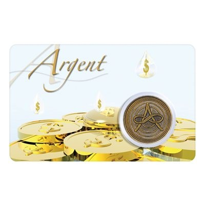 Carte - Argent / Card - Money