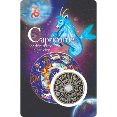 Carte - Capricorne / Card - Capricorn