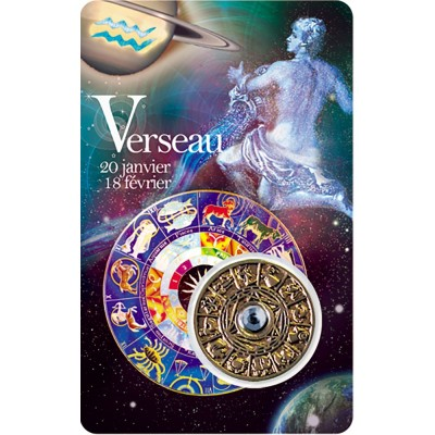 Carte - Verseau / Card - Aquarius