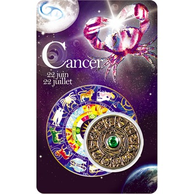 Carte - Cancer / Card - Cancer