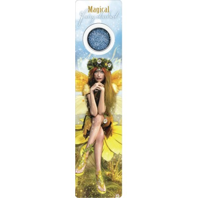 Bookmark - Yellow spring fairy - Fairy Dust