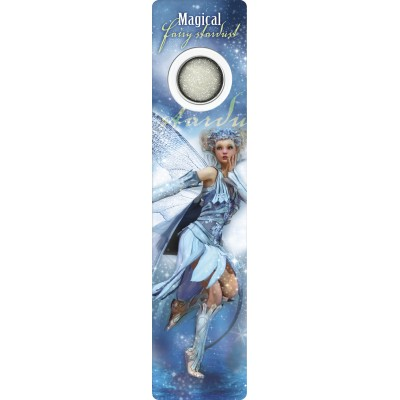 Bookmark - Blue winter fairy - Fairy Dust