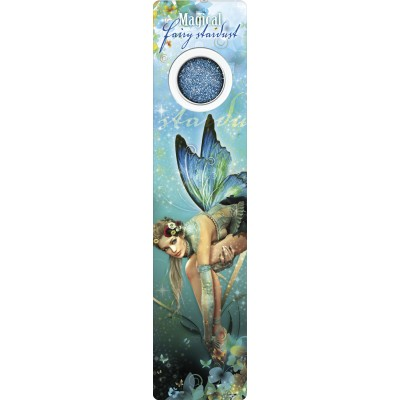 Bookmark - Navy butterfly fairy - Fairy Dust