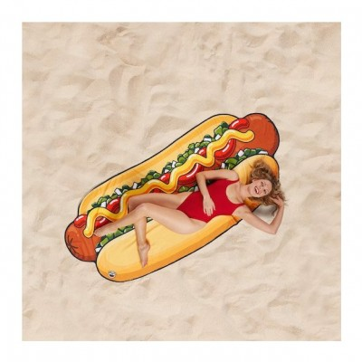 Hot-Dog Couverture de plage