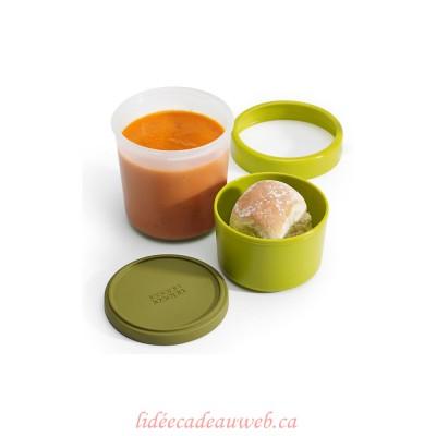 Pot à soupe 2-en-1 GoEat™