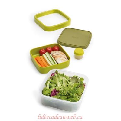 Boîte à salade 3-en-1 GoEat™