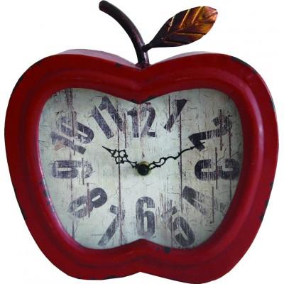 Horloge Murale Pomme rouge