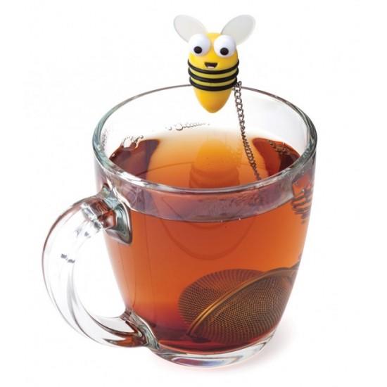 infuseur de th abeille bee tea infuser joie msc. Black Bedroom Furniture Sets. Home Design Ideas