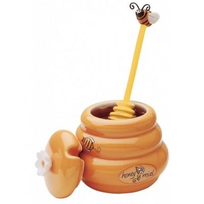 Mini pot et Bâton à miel