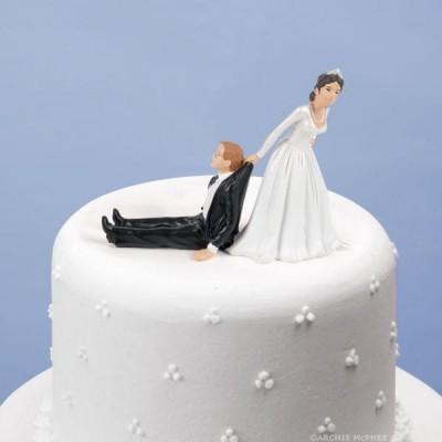 Garniture de gâteau de Mariage