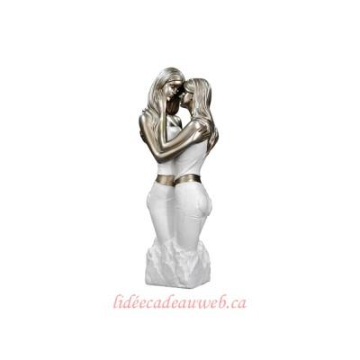 Figurine Femmes enlacées