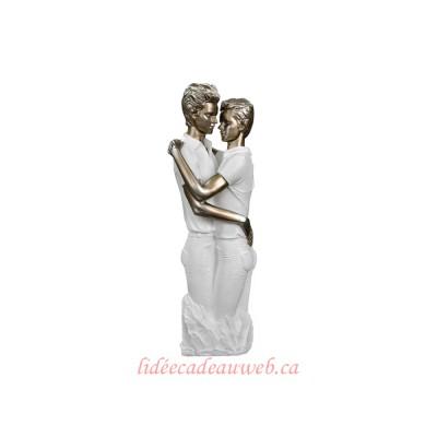 Figurine Hommes enlacés
